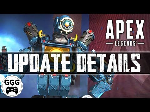 LIMITED TIME GEAR OUT NOW - Apex Legends First Update (Full Patch Notes)