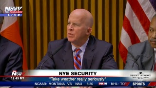 FNN: NYE security presser in NYC, Pinal County traffic incident