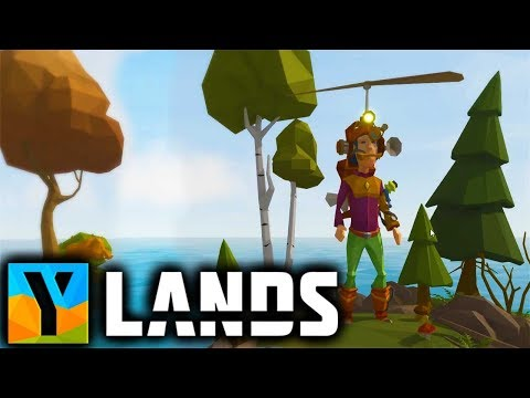 Ylands - CREATIVE MODE With FLYING SUIT! - Ylands Gameplay Part 2