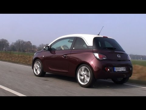 opel adam testfahrt youtube. Black Bedroom Furniture Sets. Home Design Ideas