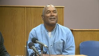 Watch the moment OJ Simpson is granted parole