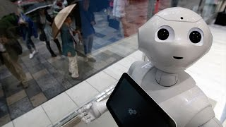 Робот Pepper 'Перец'. Первого в мире эмоционального робота распродали за минуту