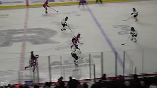 Melodie Daoust of Les Canadiennes de Montreal scores vs. Markham Thunder 2/23/19
