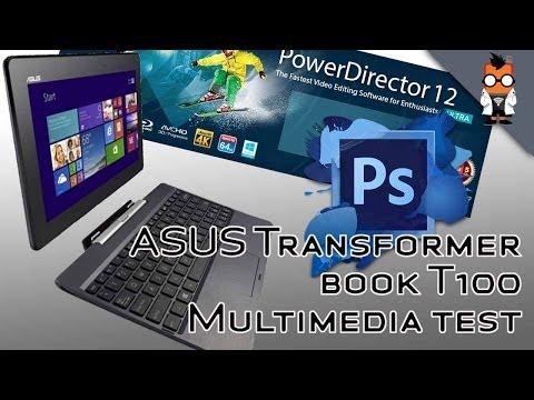 Intel Bay Trail Z3740 Video Editing Test - ASUS Transformer Book T100