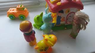 Сказка Маша и Медведь для малышей,  Глеб и его новые друзья