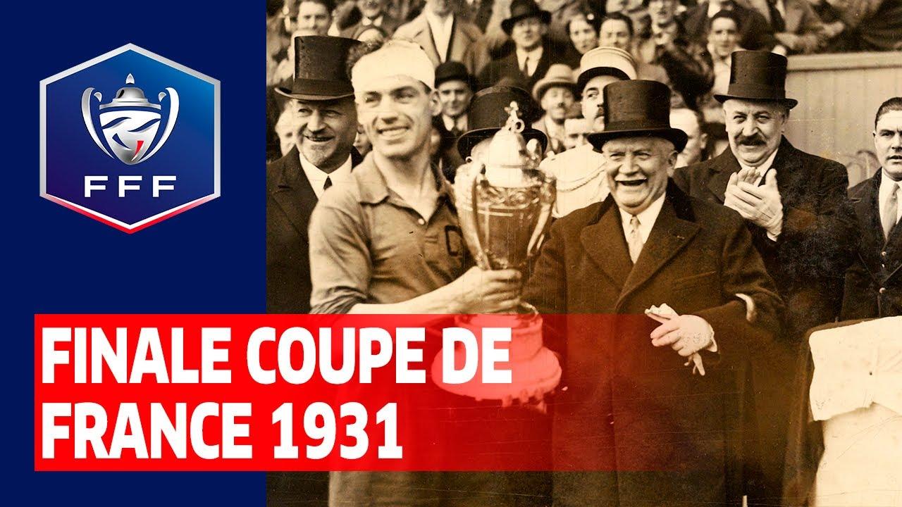Finale Coupe de France 1931 : Club français - Sports Olympiques Montpelliérains (3-0)
