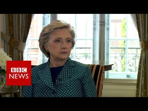 Clinton on Weinstein: 'I was shocked and appalled' - BBC News