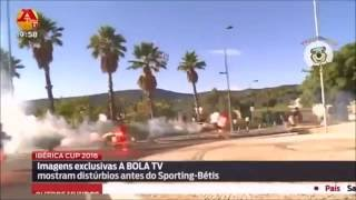 Betis hools attacks Sporting in Portugal before friendly game 04.08.2016