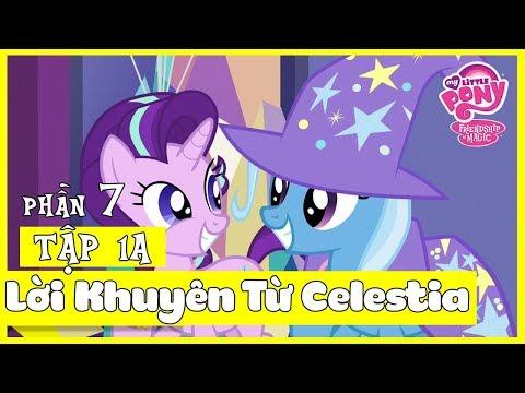 Pony Bé Nhỏ: Tình Bạn Diệu Kỳ Phần 7   Tập 1 (Part 1/4): Lời Khuyên Của Celestia   Lồng Tiếng
