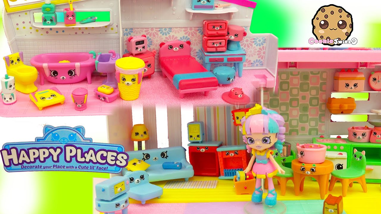 Download All 4 Shopkins Petkins Decorator's Packs with Blind Bags In Rainbow Kate's Happy Places Home