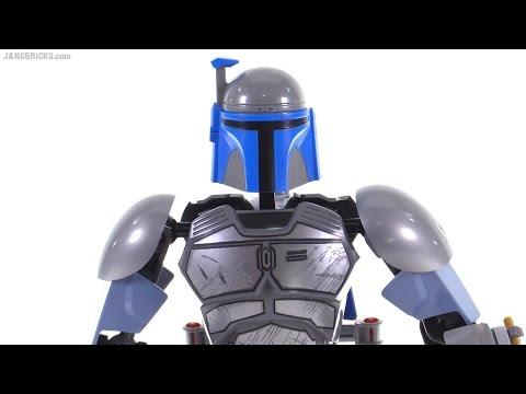 Lego Star Wars Jango Fett Buildable Figure Review 75107 Youtube