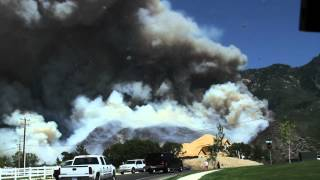 HD footage of Quail Fire, Alpine Utah, 2012