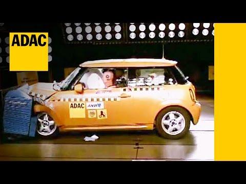 Mini Cooper 2016 Crash Test Iihs Small Overlap Crash Test 2015