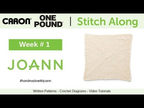 Crochet Spring Stitch Along with JOANN | The Crochet Crowd