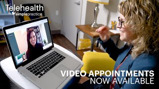 Try a Video Appointment with Telehealth by SimplePractice