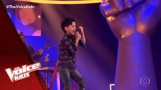 Vinne Ramos canta 'Fui Fiel' nas Audições às Cegas - The Voice Kids Brasil   5ª Temporada