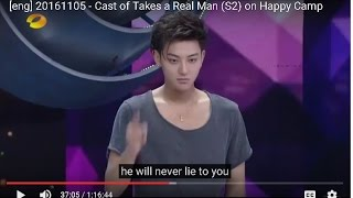 [eng] 20161105 - Cast of Takes a Real Man (S2) on Happy Camp