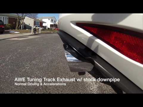 AWE Tuning Track Exhaust Sound Clips for VW GTI MK7