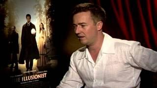 The Illusionist: Edward Norton Interview