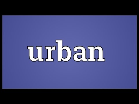 Urban Meaning