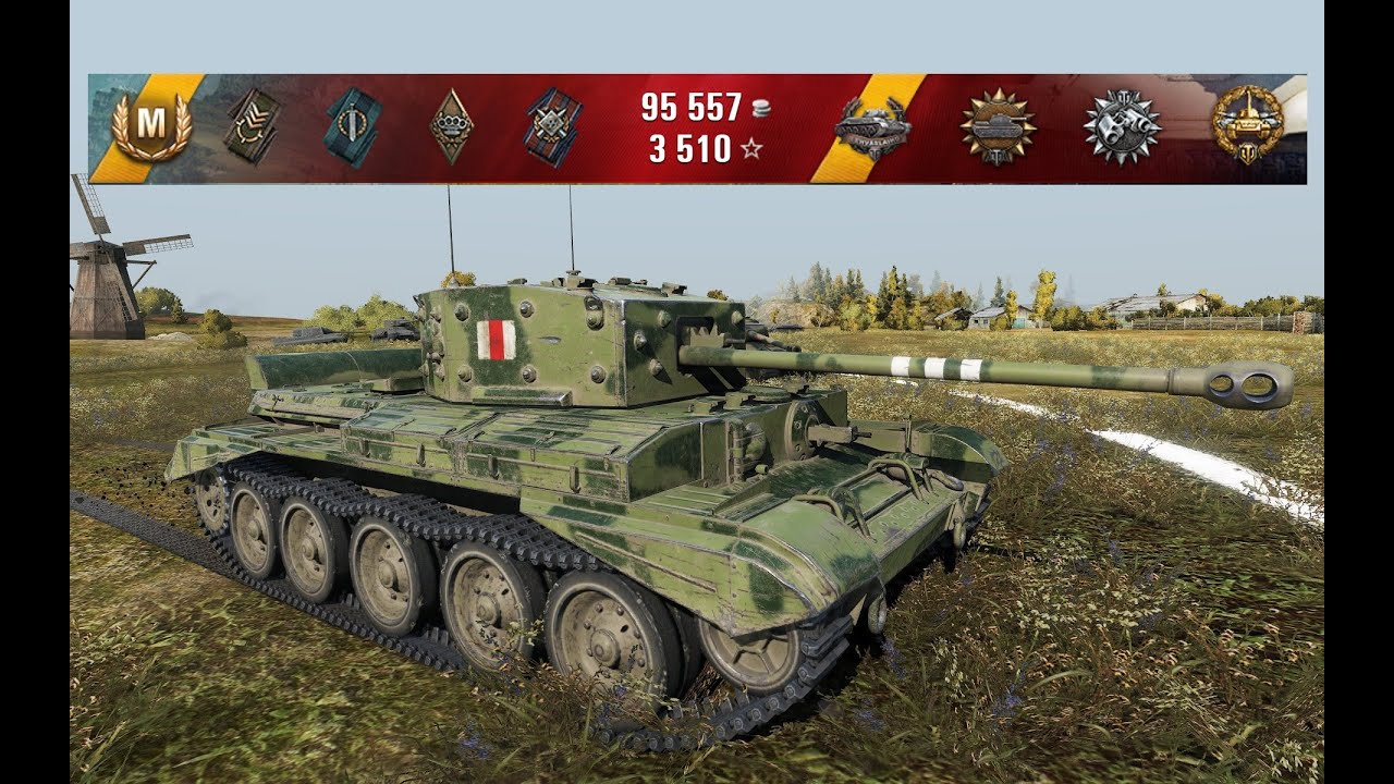 WoT Cromwell Best Game (exp) in 0.9.10 | 2.300+ exp | 4