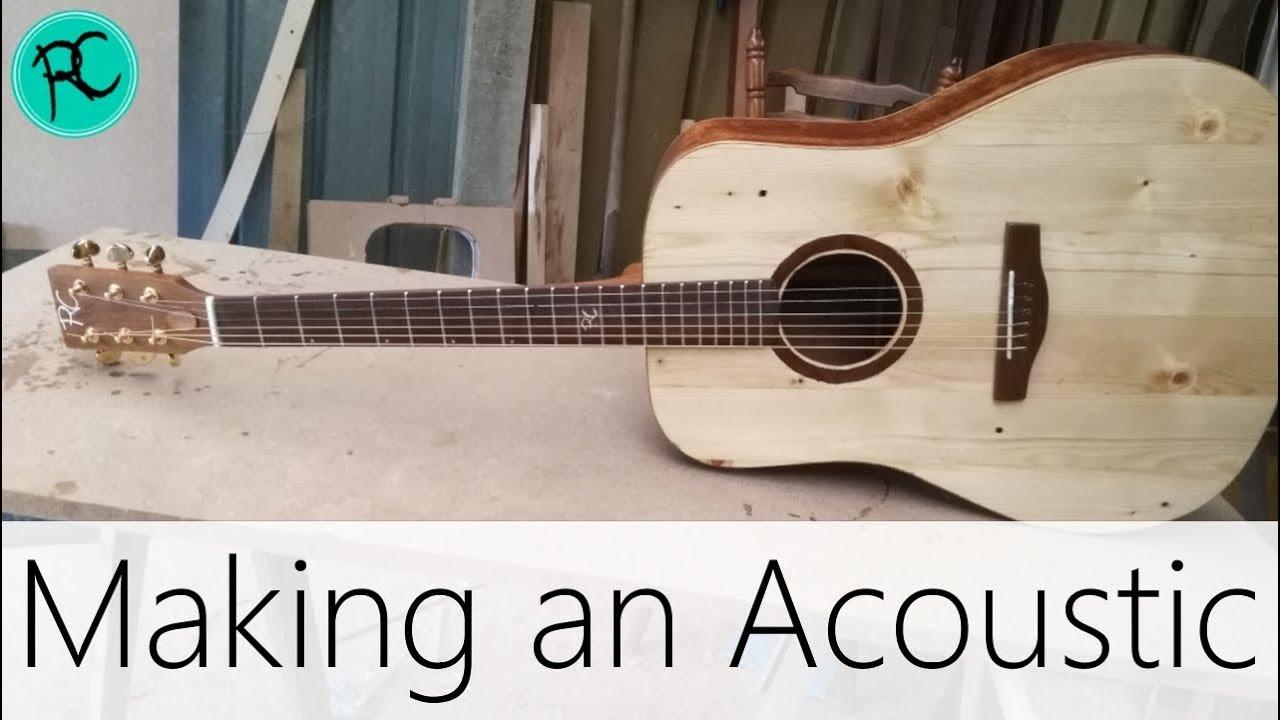 making an acoustic guitar super fast youtube. Black Bedroom Furniture Sets. Home Design Ideas