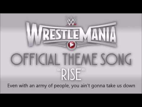Wwe Wrestlemania 31 David Guetta   Rise Feat  Skylar Grey W Lyrics