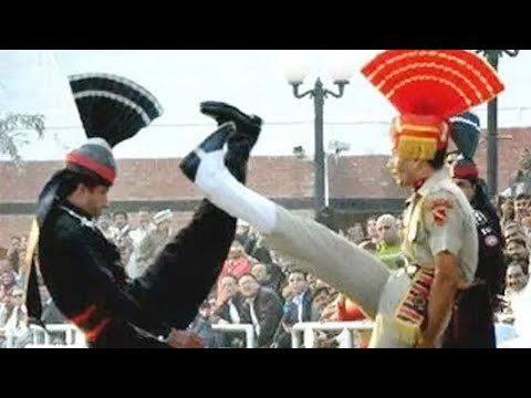 India vs Pakistan || Special Beating Retreat Ceremony held at Wagah Border
