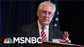 Rex Tillerson Fails To Defend US Journalist On Russia Visit | Rachel Maddow | MSNBC