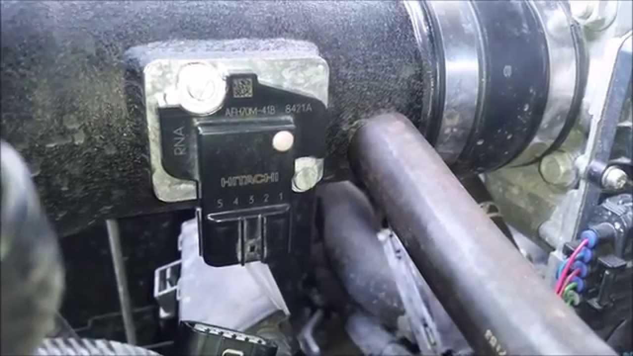 2008 8th gen honda accord diy how to clean your mass airflow sensor youtube [ 1280 x 720 Pixel ]