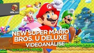 REVIEW - Diversão garantida, New Super Mario Bros. U Deluxe peca com visual antigo