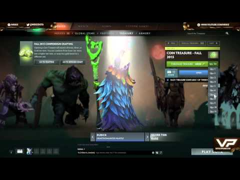 Chest Opening #23 20,000+ coin opening + crafting DOTA 2