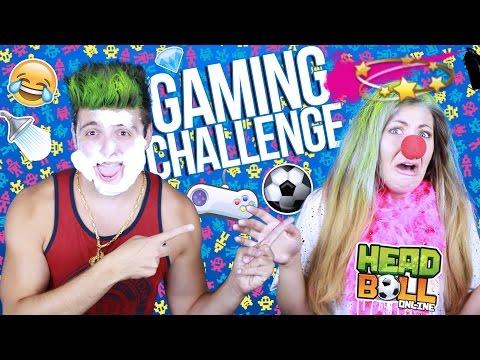 Gaming Challenge   Online Head Ball със Стефи!