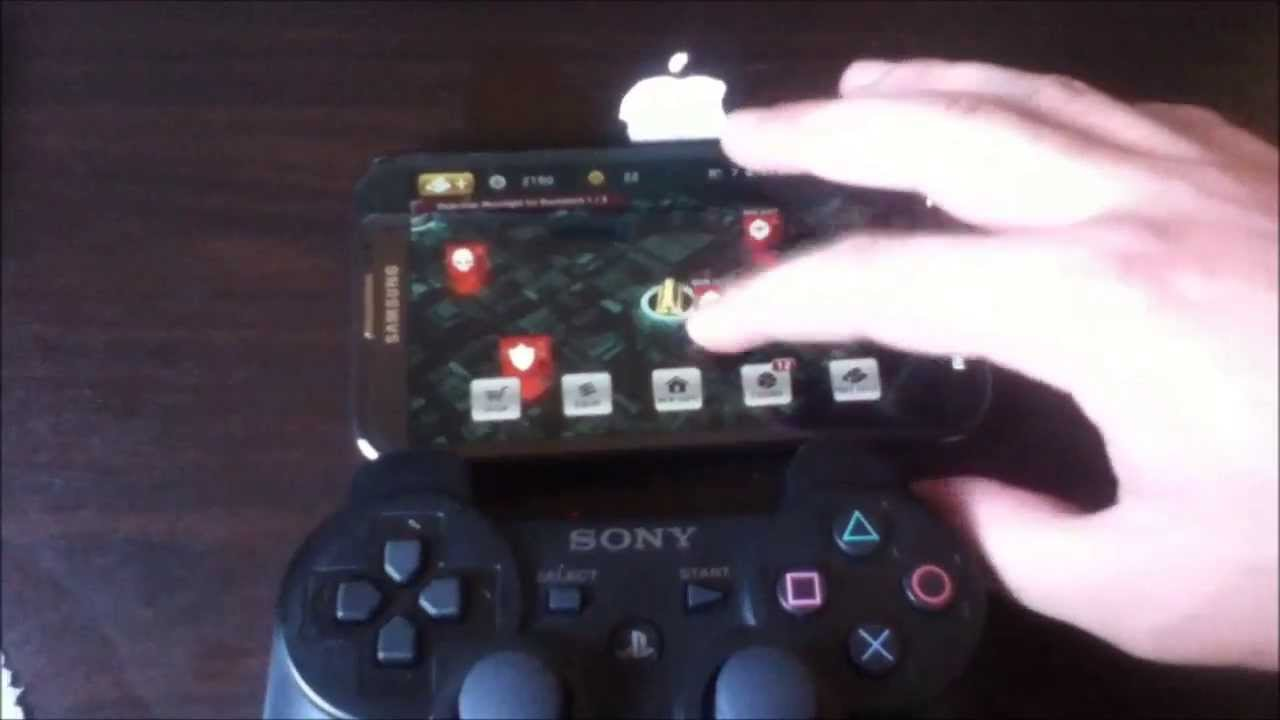How to pair PS3 controller with your Android phone without OTG cable