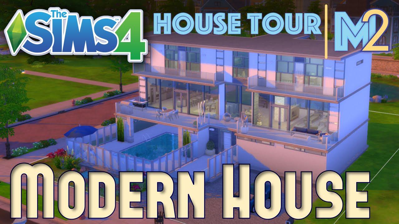 The Sims 4 House Tour Modern Luxury YouTube
