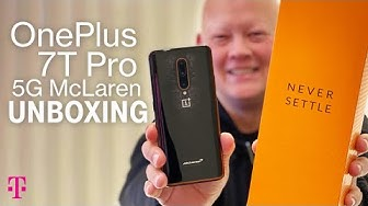 OnePlus 7T Pro 5G McLaren Phone Unboxing | T-Mobile
