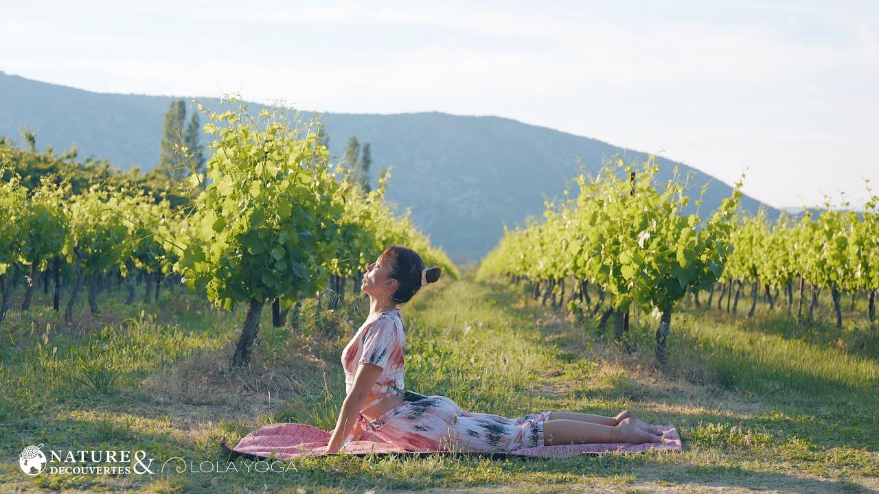 Lola Yoga x Nature & Découvertes -  Séance en pleine nature