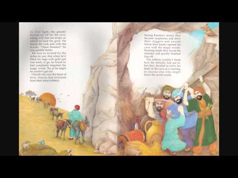 Once upon a time story tape 8 Alibaba and the forty theives part 1