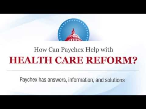 How Can Paychex Help With Health Care Reform?