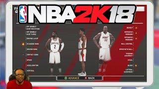 NBA 2K18 MyCareer Ep 1- THE ULTIMATE SHARPSHOOTING SHOT CREATOR PLAYER CREATION!
