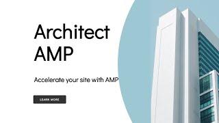 Mobirise AMP Architecture Page Theme   ArchitectAMP
