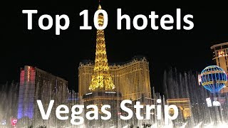 Our unscientific list of the Top 10 hotels in Vegas (Vegas - Part 1)