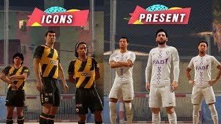What If Messi, Ronaldo, Neymar faced Maradona, Ronaldinho, Zidane in FIFA 20??
