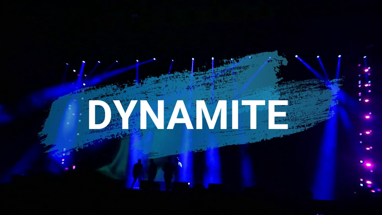 DYNAMITE / Westlife 20 Tour Asia Live in Jakarta - Indonesia 6th Aug, 2019