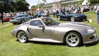 Marcos Lm500 V12 British supercar walkaround [Goodwood Festival of Speed 2014]