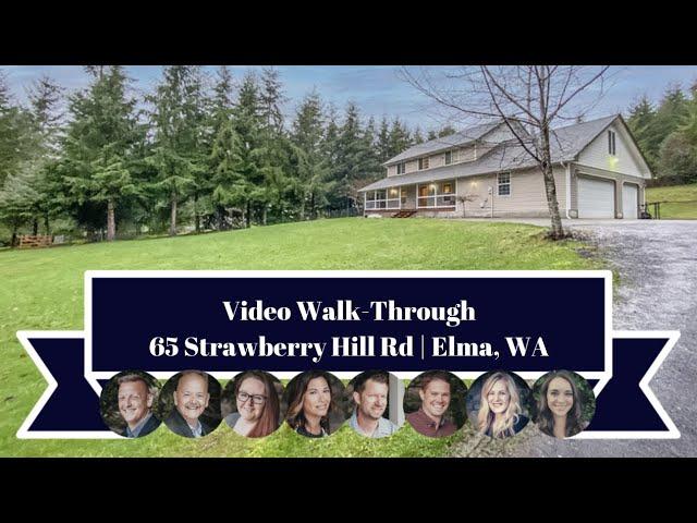 65 Strawberry Hill Rd | Elma, WA | Video Walk-Through