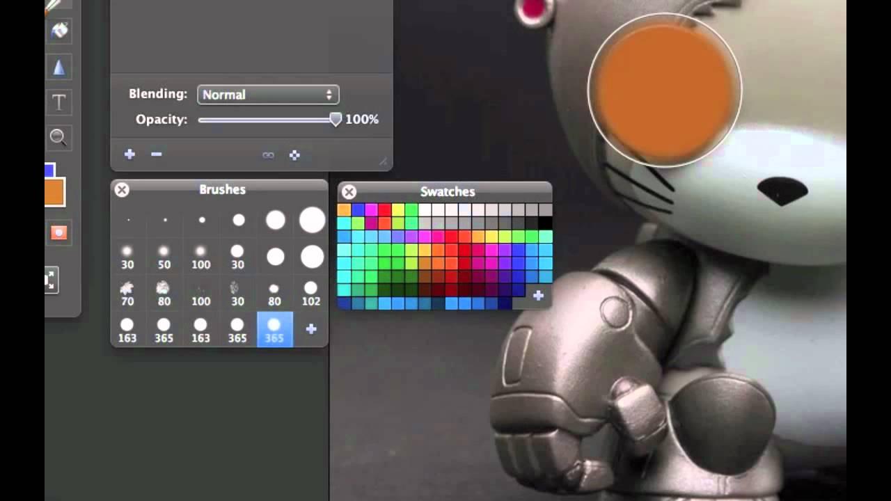 pixelmator how to make red eyes