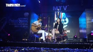 QTV đàn cho Hồng Vịnh hát Come Back Home của 2NE1