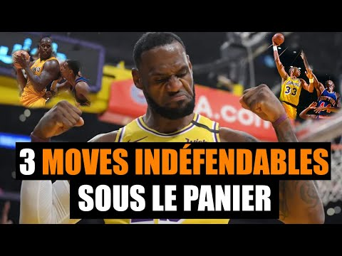 3 MOVES INARRÊTABLES AU POSTE BAS - BASKETBALL
