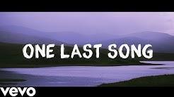 Sam Smith - One Last Song Lyrics